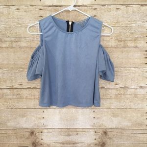 Charlotte Russe Crop Top Size Small